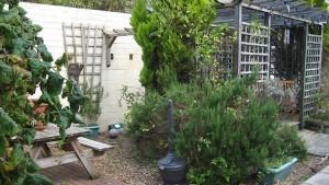Westcliffe House garden