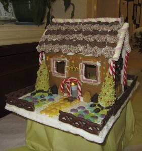Christmas ginger bread competition